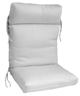 Hinged Cartridge Style Club Chair Cushion 20 x 39  x 4