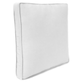 Boxed Edge Square Toss Pillow 18""
