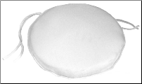 Deluxe Round Chair Pad 15