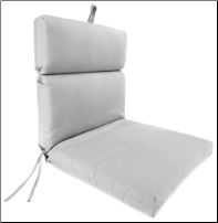 Universal Chair Cushion 22 x 44 x 4