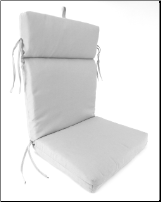 Universal Cartridge Style Chair Cushion 22 x 46 x 3.5