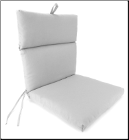 Universal Cartridge Style Chair Cushion 22 x 43 x 3.5
