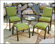 Cast Aluminum Furniture Cushions