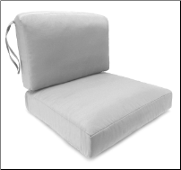 Paragon Deepseat 2 piece Chair Cushion