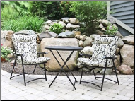 Wrought Iron Furniture Cushions