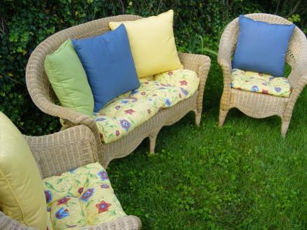 Wicker Chair Cushions Chair Seat Pads Wicker Loveseat Cushions