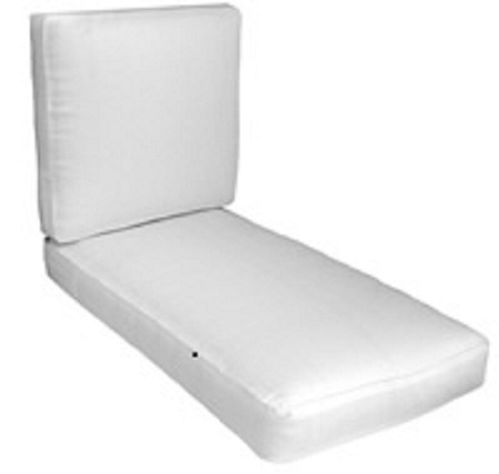 Chaise Lounge Cushions  sc 1 st  The Replacement Cushion : chaise patio cushions - Sectionals, Sofas & Couches
